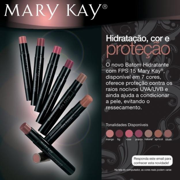 Batom Hidratante com FPS 15 Mary Kay