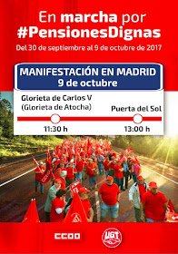 En marcha por #PensionesDignas / Manifestación en Madrid