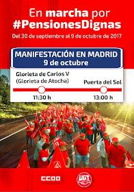 En marcha por #PensionesDignas / Manifestación en Madrid