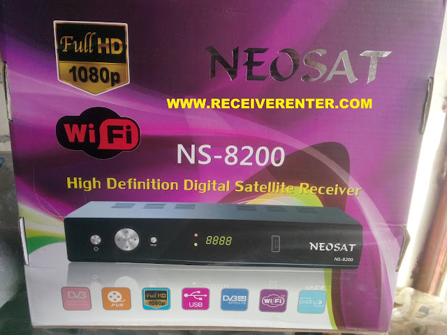 NEOSAT NS-8200 HD RECEIVER BISS KEY OPTION