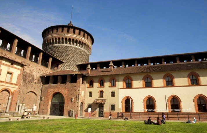 eventi gratuiti nel weekend nel cortile della rocchetta del Castello Sforzesco di Milano