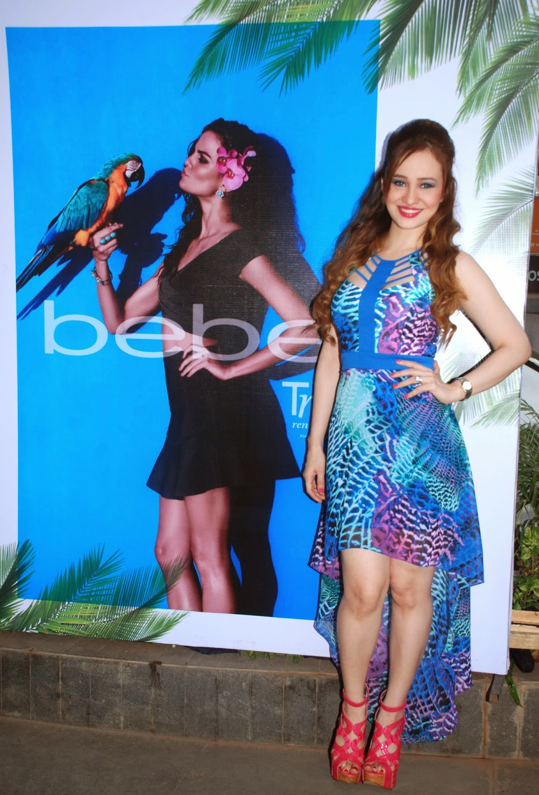Stephanie Timmins at the Bebe Tropic Rendezvous Event, Mumbai