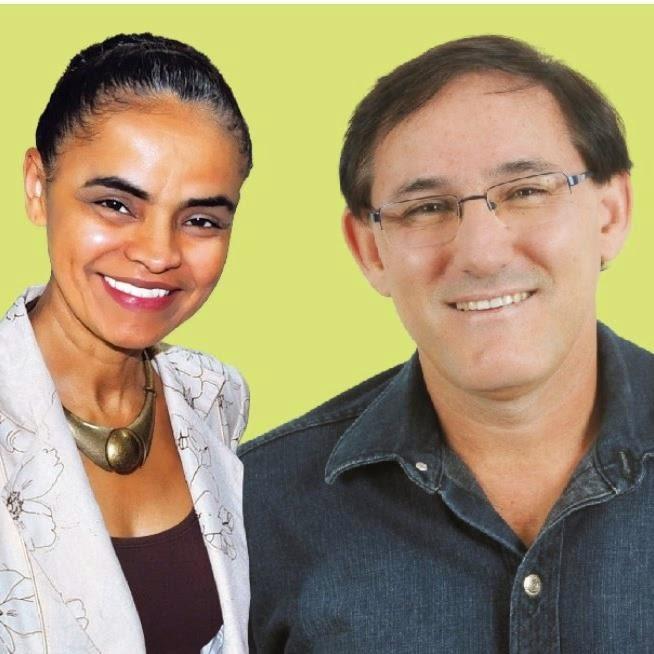 NOSSO IRMÃO COM A PRESIDENCIÁVEL MARINA SILVA