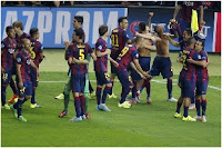 Barcelona: more reason to celebrate than they realise
