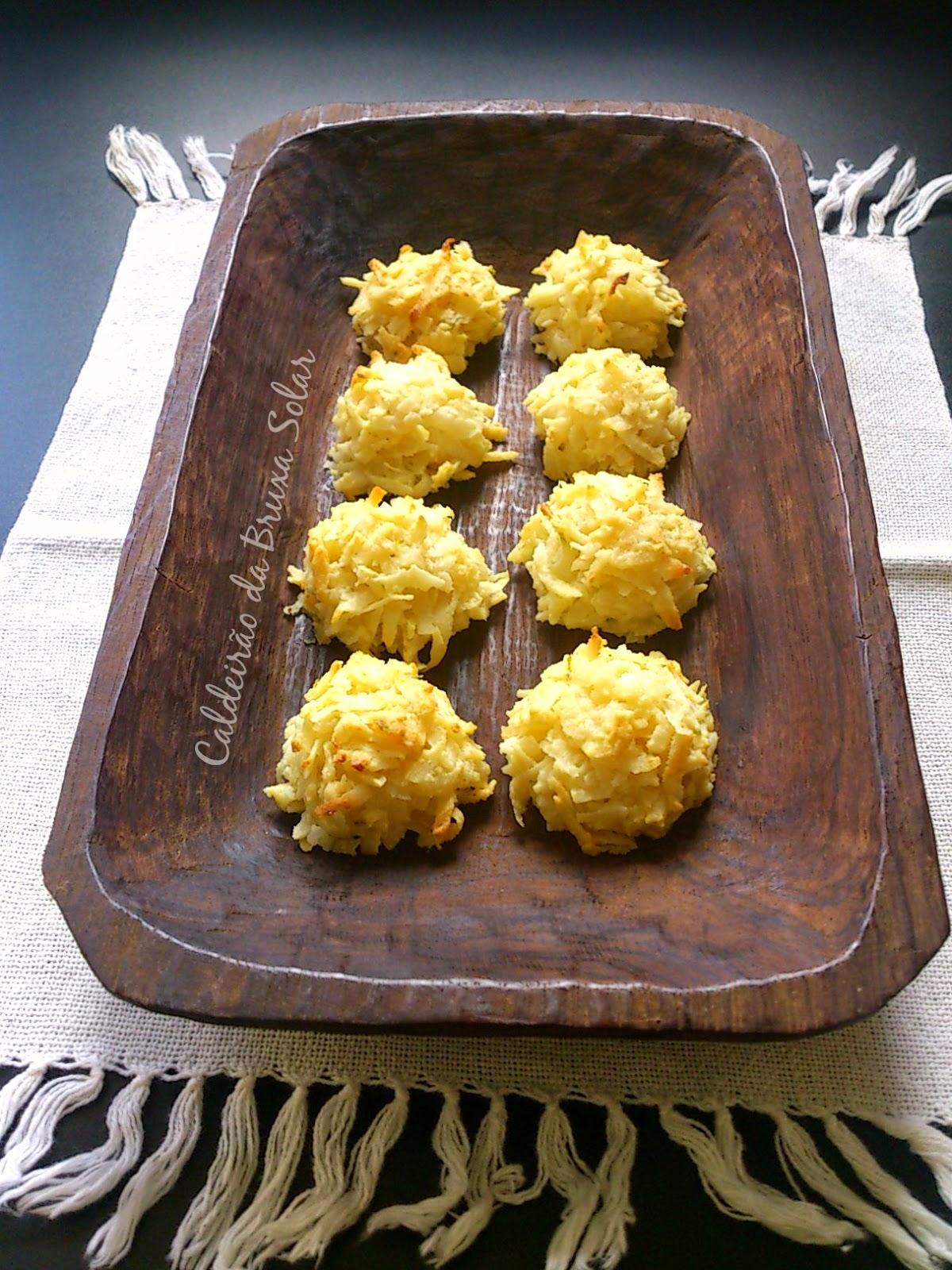 Macaroons de coco e limão