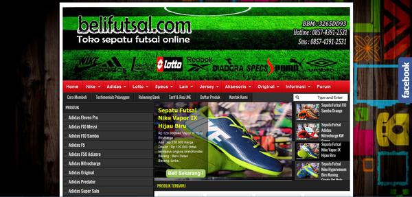 Belifutsal.com Toko Futsal Terlengkap Terpercaya