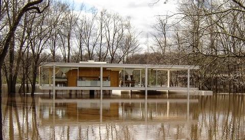 No queremos inundarnos la fotograf a y las inundaciones 76 for Casa minimalista de mies van der rohe