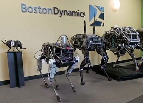 Boston Dynamics - Robot spot