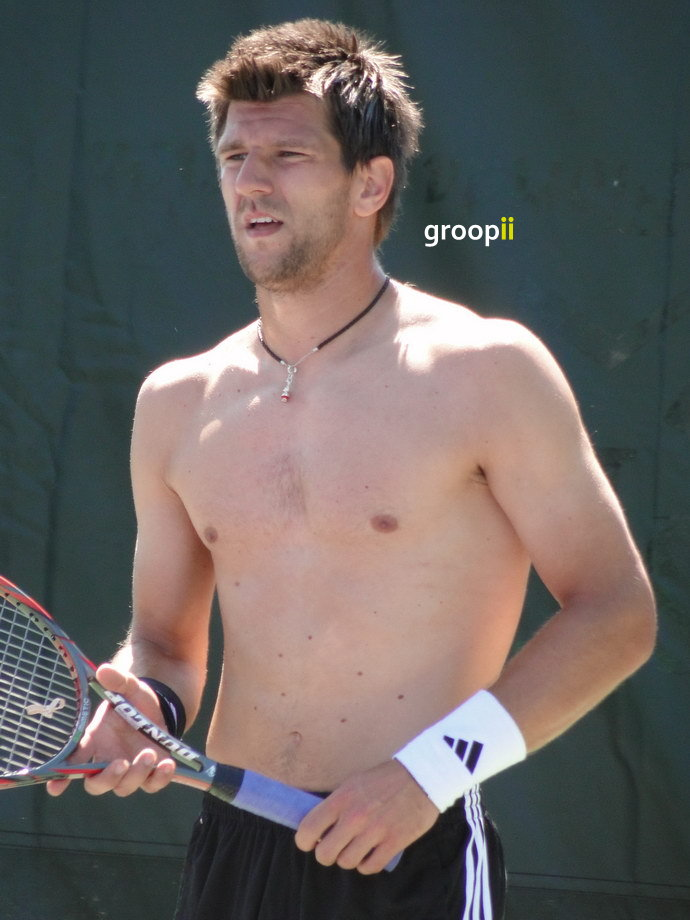 Jurgen Melzer Shirtless