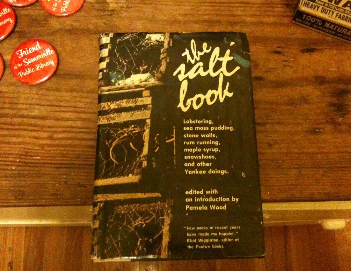 THE SALT BOOK. Pamela Wood.
