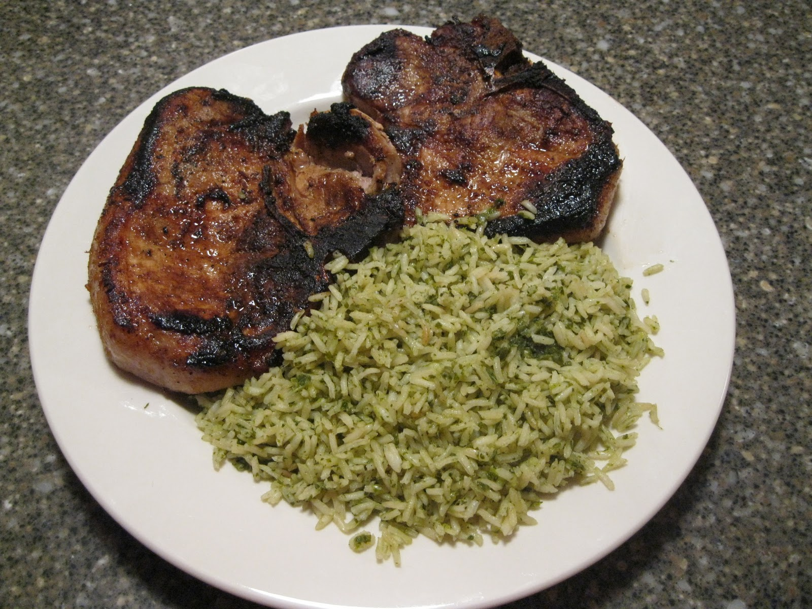 Soy-and-Ginger-Marinated Pork Chops Recipe — Dishmaps