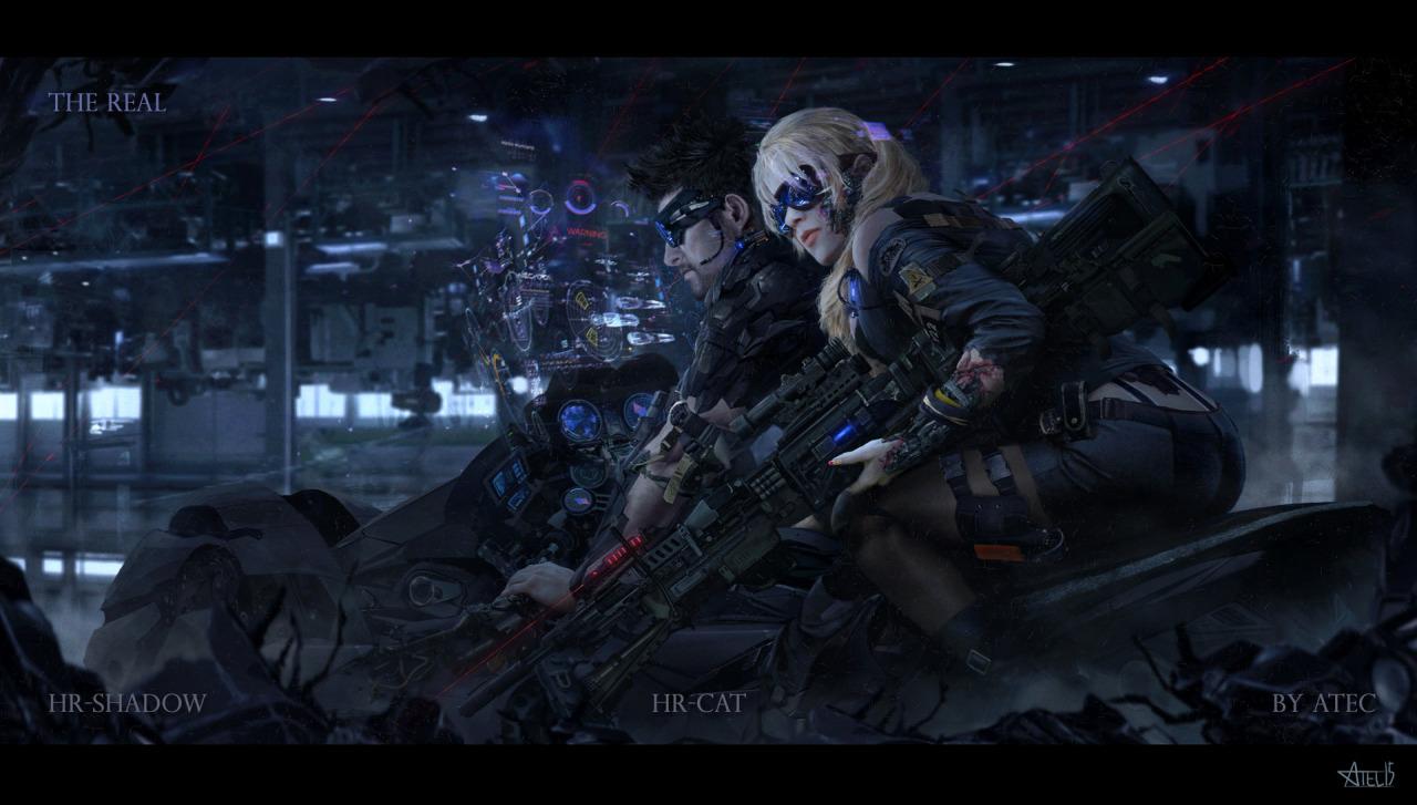 Mercenary Garage Atec