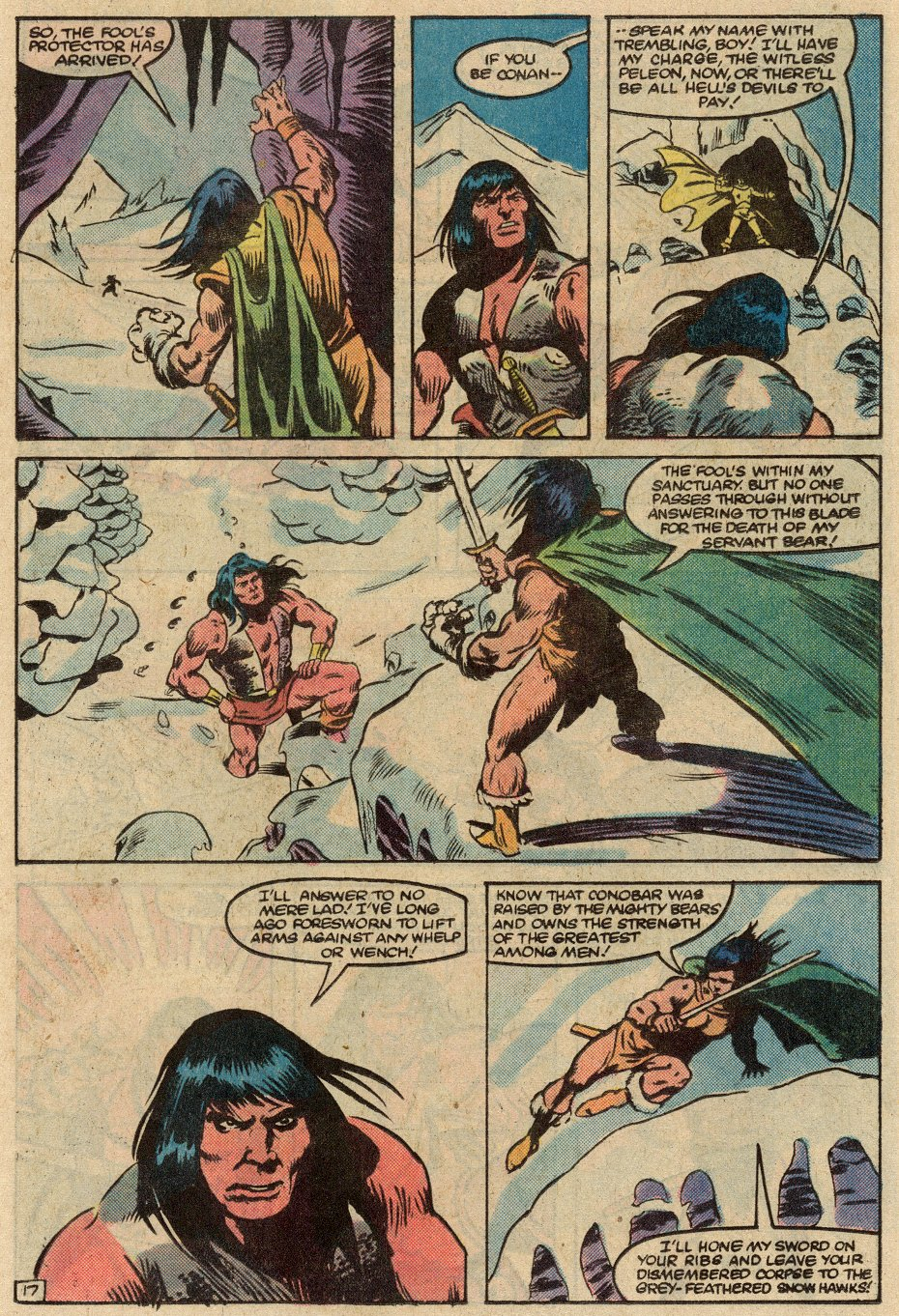 Conan the Barbarian (1970) Issue #145 #157 - English 18