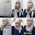 Cara Memakai Jilbab Segi Empat Super Cepat ala Wanita Karir