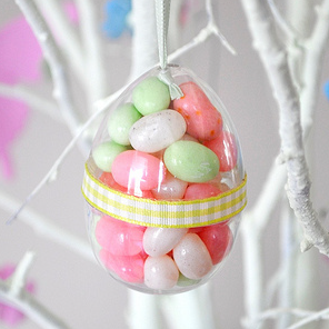 Candy filled Easter eggs by Torie Jayne