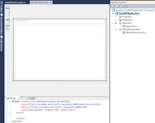 WPF first screen