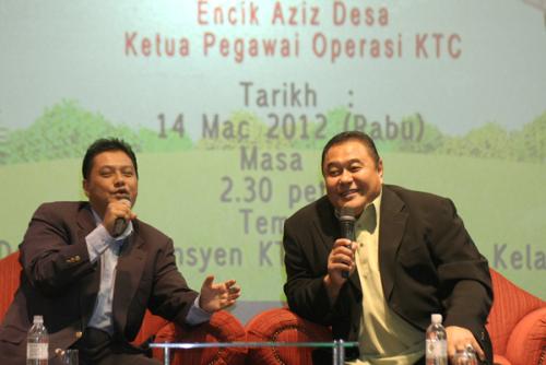 Malek Nor Ditemubual Aziz Desa Dalam Rancangan Sembang Petang