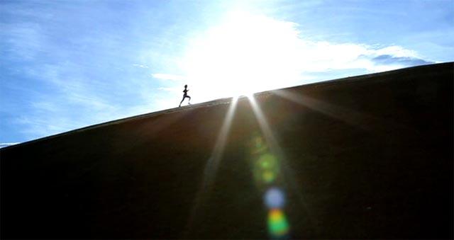 Running bajo el sol