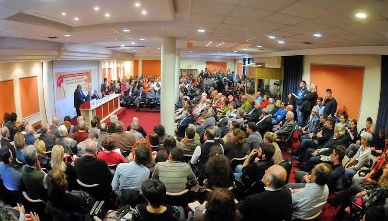 H παρουσίαση των υποψηφίων του ΚΚΕ σε Περιφέρεια Αττικής και Δήμο Αθηναίων