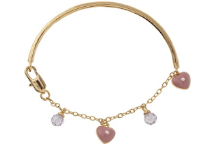 Heart+Crystal Bracelet/ More Children's Deals