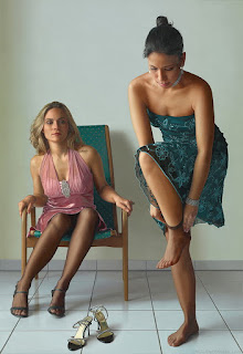 Pinturas Hiperrealismo Cuadros Oleo Mujeres