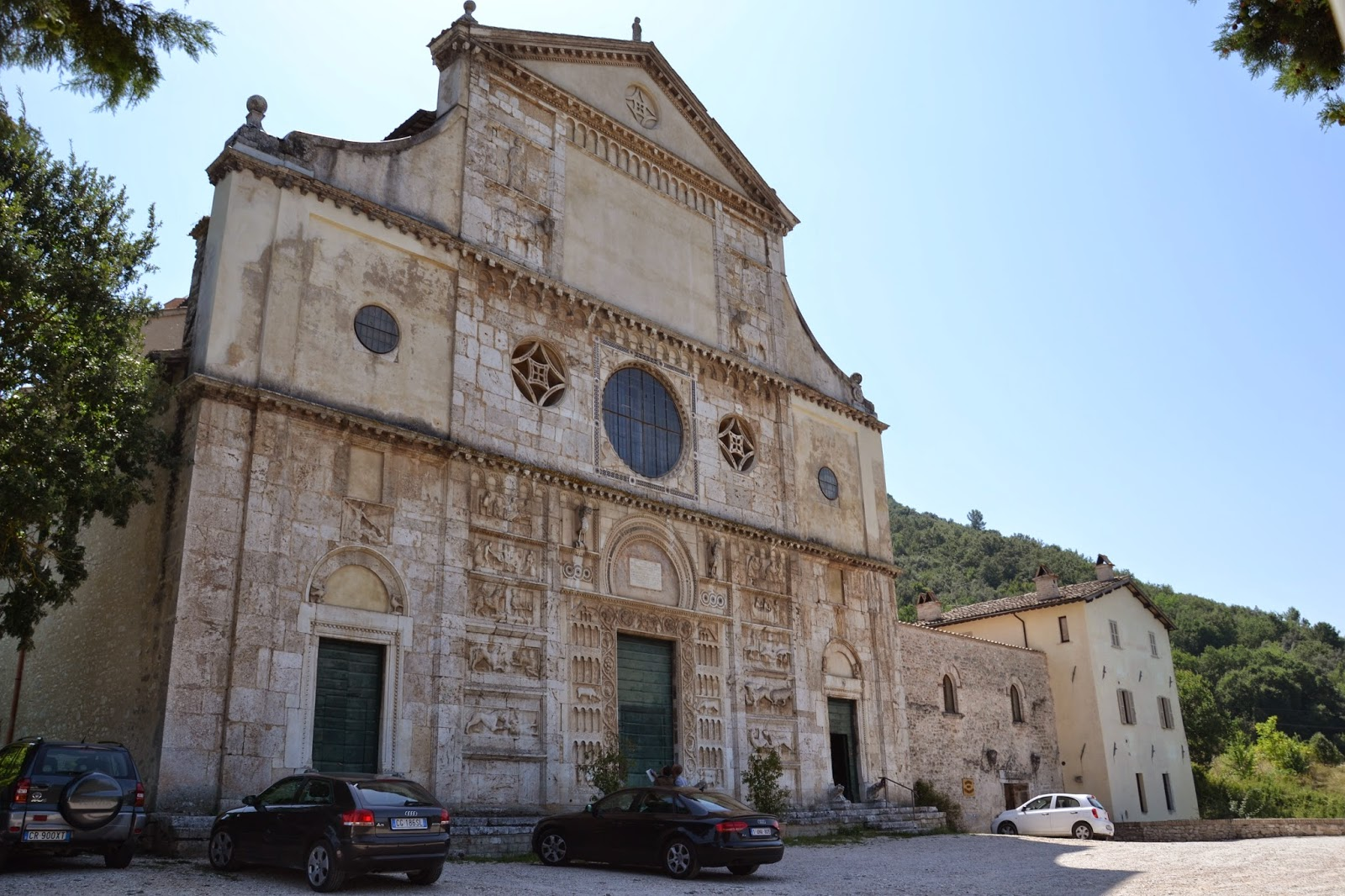 Chiesa di San Pietro - église San Pietro Spoleto