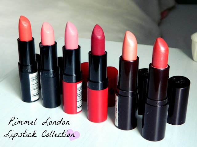 Rimmel London Lipstick Collection Belle-amie