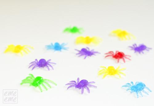 Arañas de colores - Colorful Spiders