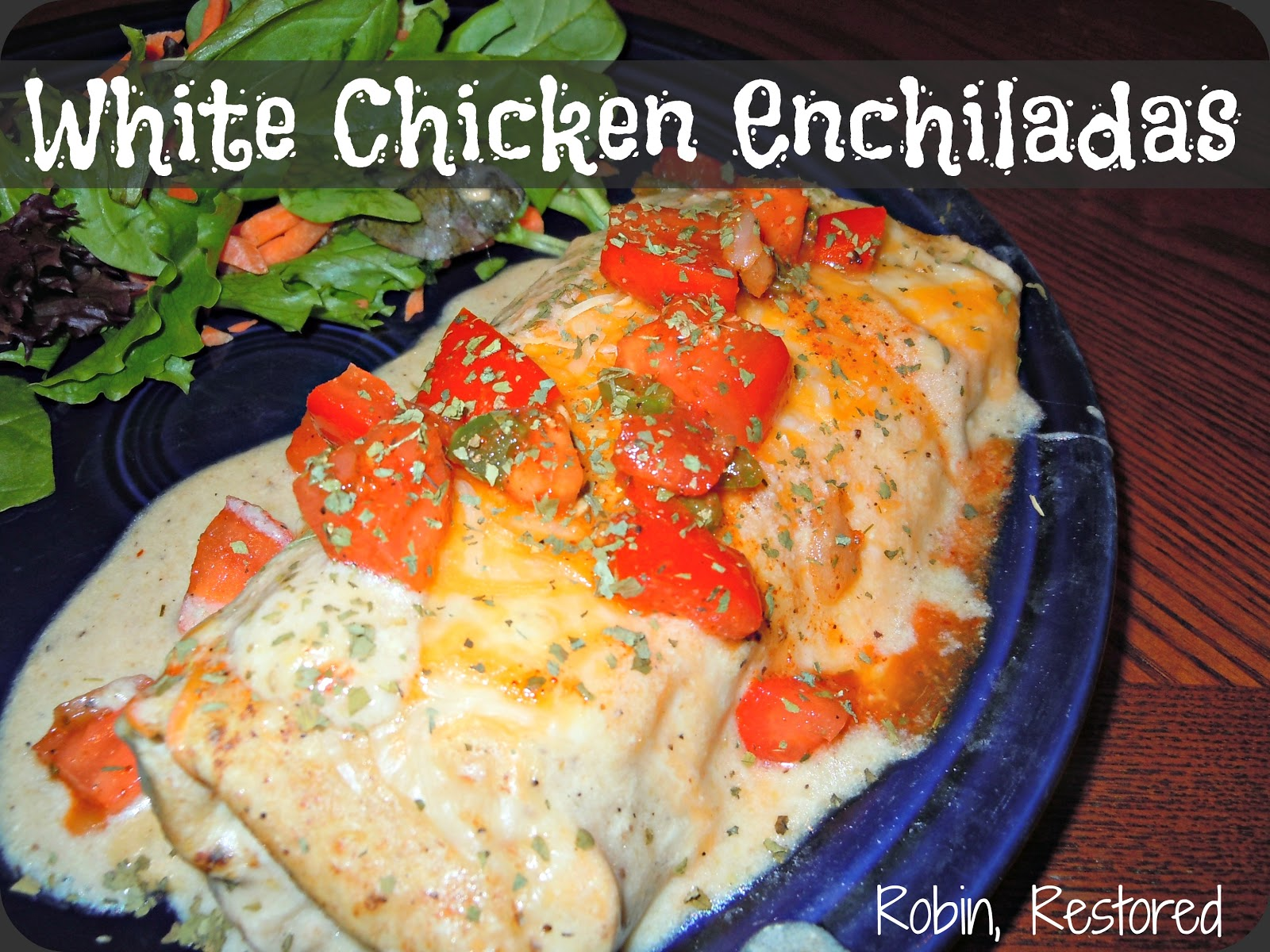 recipe makes 5 enchiladas nutr info enchilada 321 cal 17
