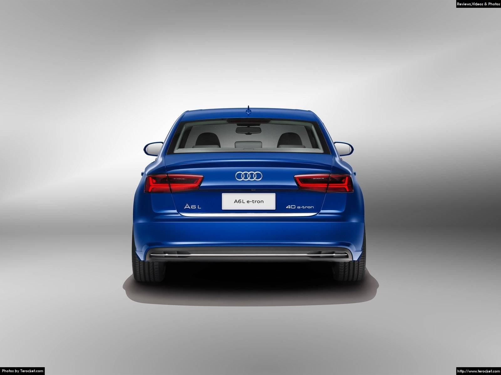 Hình ảnh xe ô tô Audi A6L e-tron 2017 & nội ngoại thất