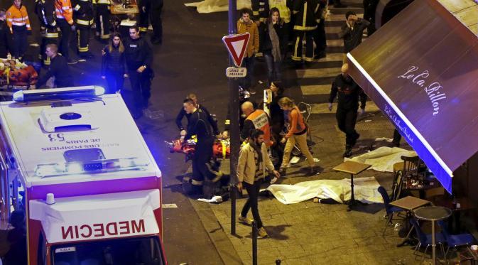 Berita terbaru paris prancis, jumlah total korban bom paris, berita terkini paris, informasi terbaru teror prancis
