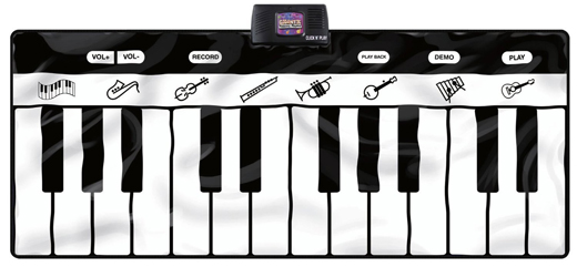 Gigantic Keyboard Play Mat, 24 Keys Piano For Kids #Kidspianomat