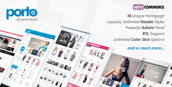 Porto v2.5.7 Responsive WordPress + WooCommerce Theme