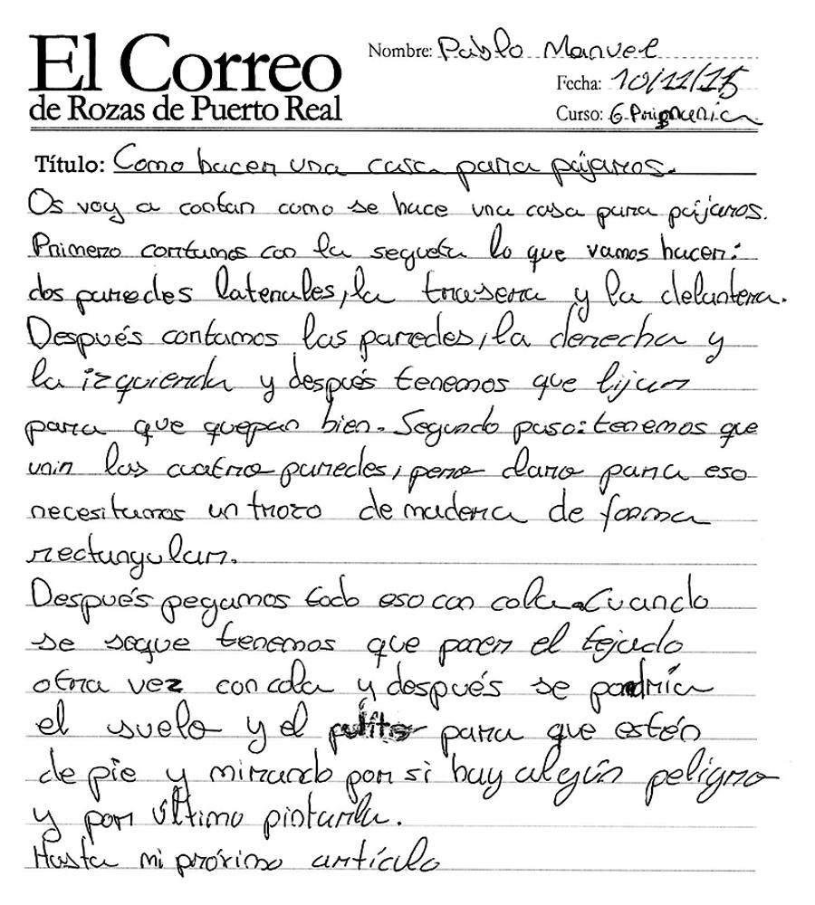 El Correo De Rozas De Puerto Real C Mo Hacer Una Casa