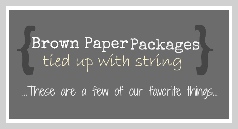 Brown paper packages tied up with string updater