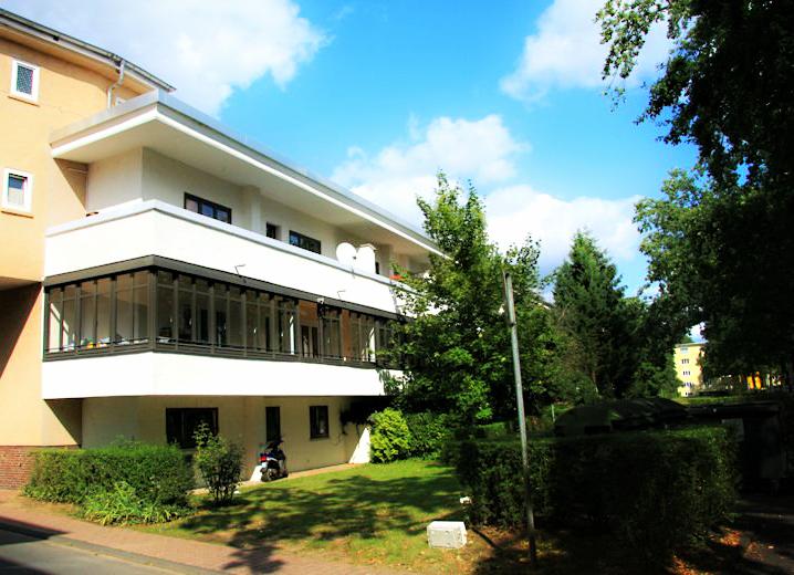 Historia de la arquitectura moderna siedlung heimat 1927 for Historia de la arquitectura moderna