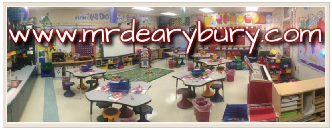 Mr. Dearybury's Class Blog