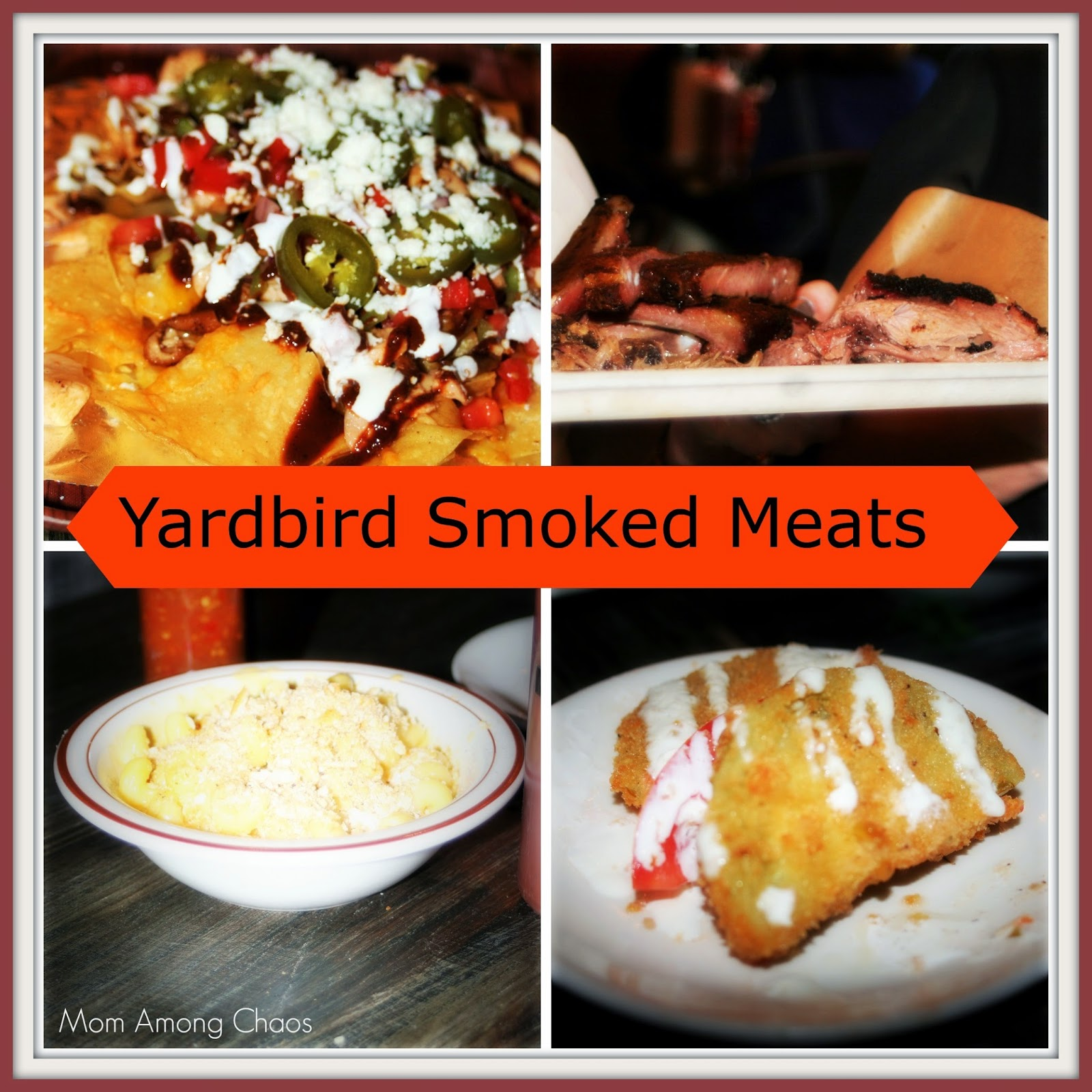 Yardbird Smoked Meats, BBQ, food, blogger, #Yardbirdcool, mac and cheese, restaurant