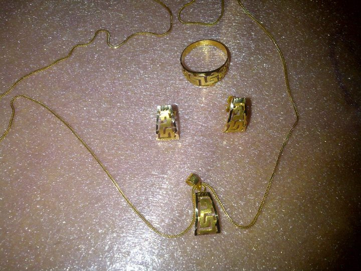 Missy Janette 18kt jewelry set Saudi gold