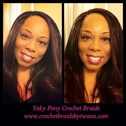 Crochet Braids Yaki Hair : ... FREE Crochet Weave with Braided: Crochet Weave using Yaki Pony