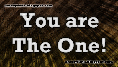 Imagen de amor: You are the one!