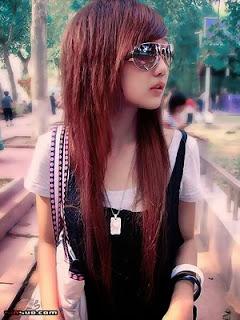 asian emo girl