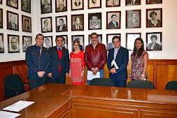 Se reúne Américo Zúñiga con funcionario de la Sedecop