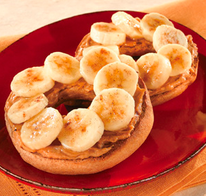 Awesome ... Wheat Toast Is A Great Whole Grain And A Small Amount Of Peanut Butter  Gives You Protein. This Is A Great Light Snack That Is Easy On The Stomach!
