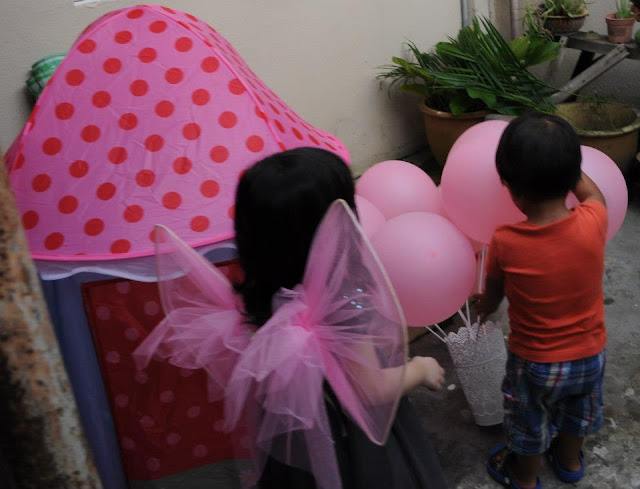 ... Mommie @ work: Fairy theme birthday party for our baby girl Sabrina