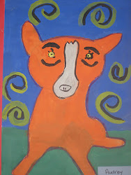 Blue Dog by: George Rodrigue