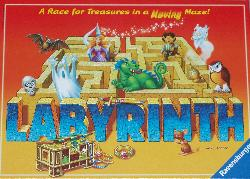 Labyrinth board game box.