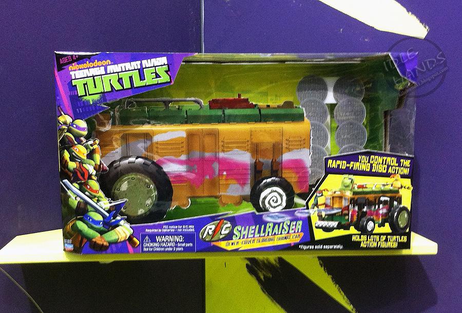 Teenage Mutant Ninja Turtles Toys 2013 : Idle hands toy fair a teenage mutant ninja turtles