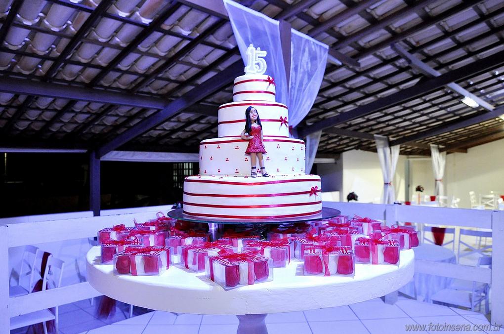 vermelho e branco decoração