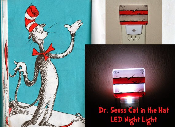 Dr. Seuss Cat In The Hat Night Light